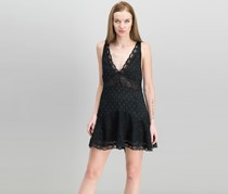 Free People Women's Any Party Slipdress, Black