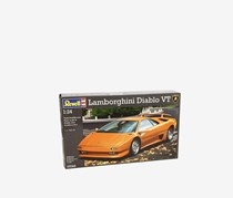 Revell 07066 Lamborghini Diablo VT Model Kit, Orange/Gray