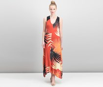 Rachel Roy Maxi Soft Maxi Dress, Lava Combo
