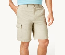 Club Room Mens 10 Cargo Shorts, Light Khaki
