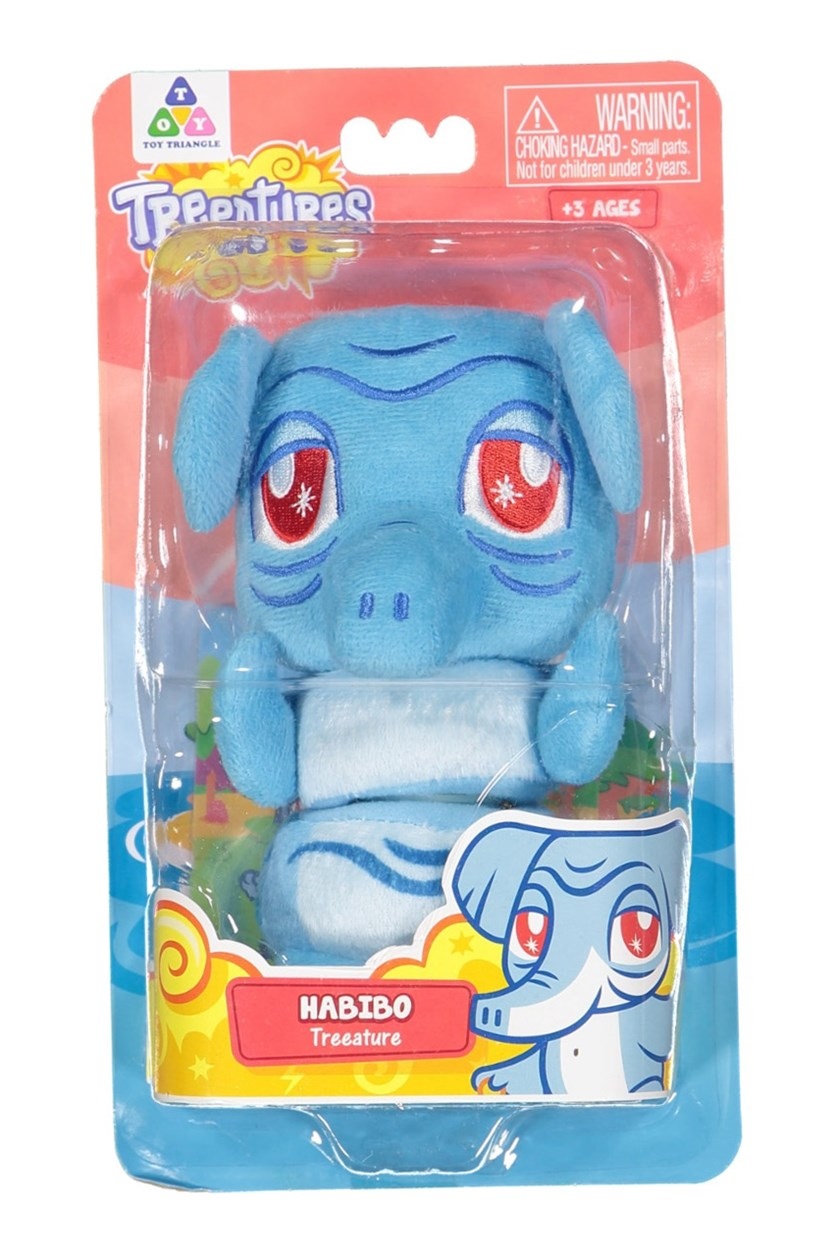Treeatures Habibo Plush Toys,  Blue