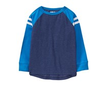 Crazy 8 Toddler's Long Sleeve Tee, Navy Blue