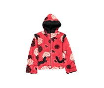 Corky & Company Girls Hooded Jacket, Red