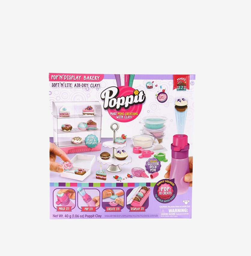 Bake N Display Bakery Play Set, Pink