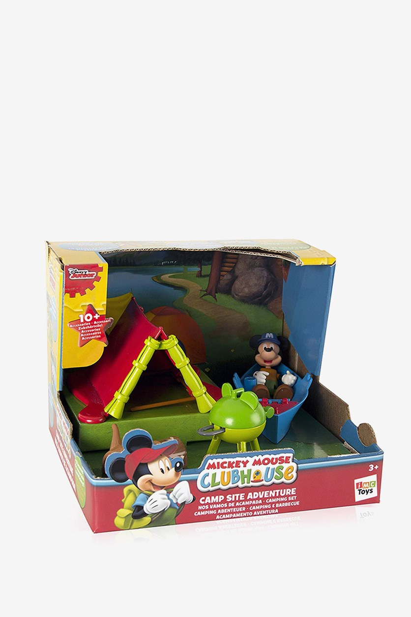 Mickey Mouse Club House Camp Site Adventure Toy, Red Combo