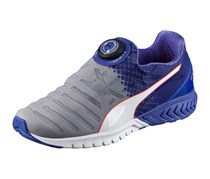 Puma Womens Ignite Dual Disk Sneaker, Quarry/Royal Blue White