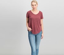 Wallflower Women's Heather Tops, Maroon
