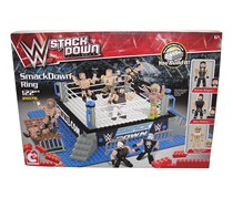 WWE C3 Stackdown Universe SmackDown Ring 21078 The Bridge Direct, Red Combo