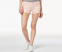 DL 1961 Renee Cutoff Denim Shorts, Hibiscus