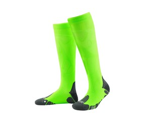 Performance Compression Socks, Neon Green