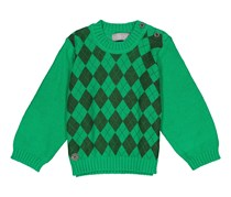 Boboli Toddler Boy's Knit Long Sleeve, Green