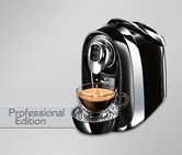 Cafissimo Compact Proessional Edition, Black