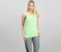Puma Women's Sleeveless Evoknit Tank, Lime Green