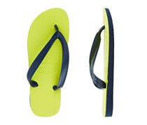 Havaianas Womens Colour Up Thongs, Green/Navy