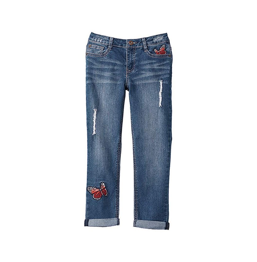 Toddlers Demetra Butterfly Jeans, Ada Wash