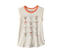 Lucky Brand Girls Zoya Tank Top, Whisper White