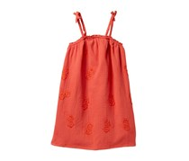 Lucky Brand Girls Ella Dress, Coral