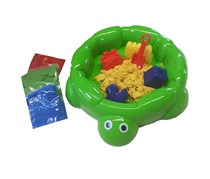 Little Tikes Magic Sand Turtle Sandbox, Green
