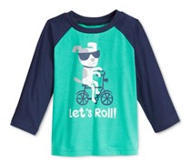 First Impressions Boys Graphic-Print T-Shirt, Green Lake