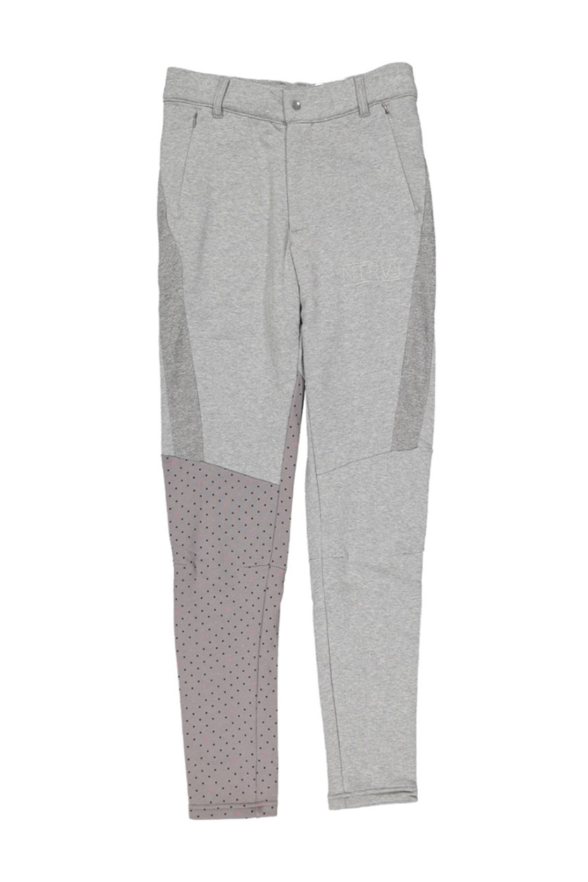 X Staple Track Pants, Gray Heather
