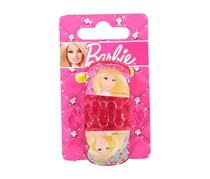 Barbie Kid's Girl's 2 Small Claw Clip, Dark Pink
