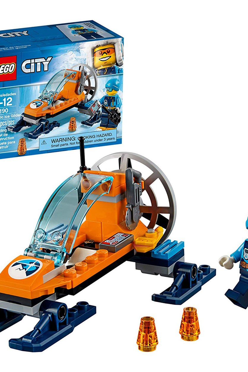 City Arctic Ice Glider 60190 Building Kit, Blue
