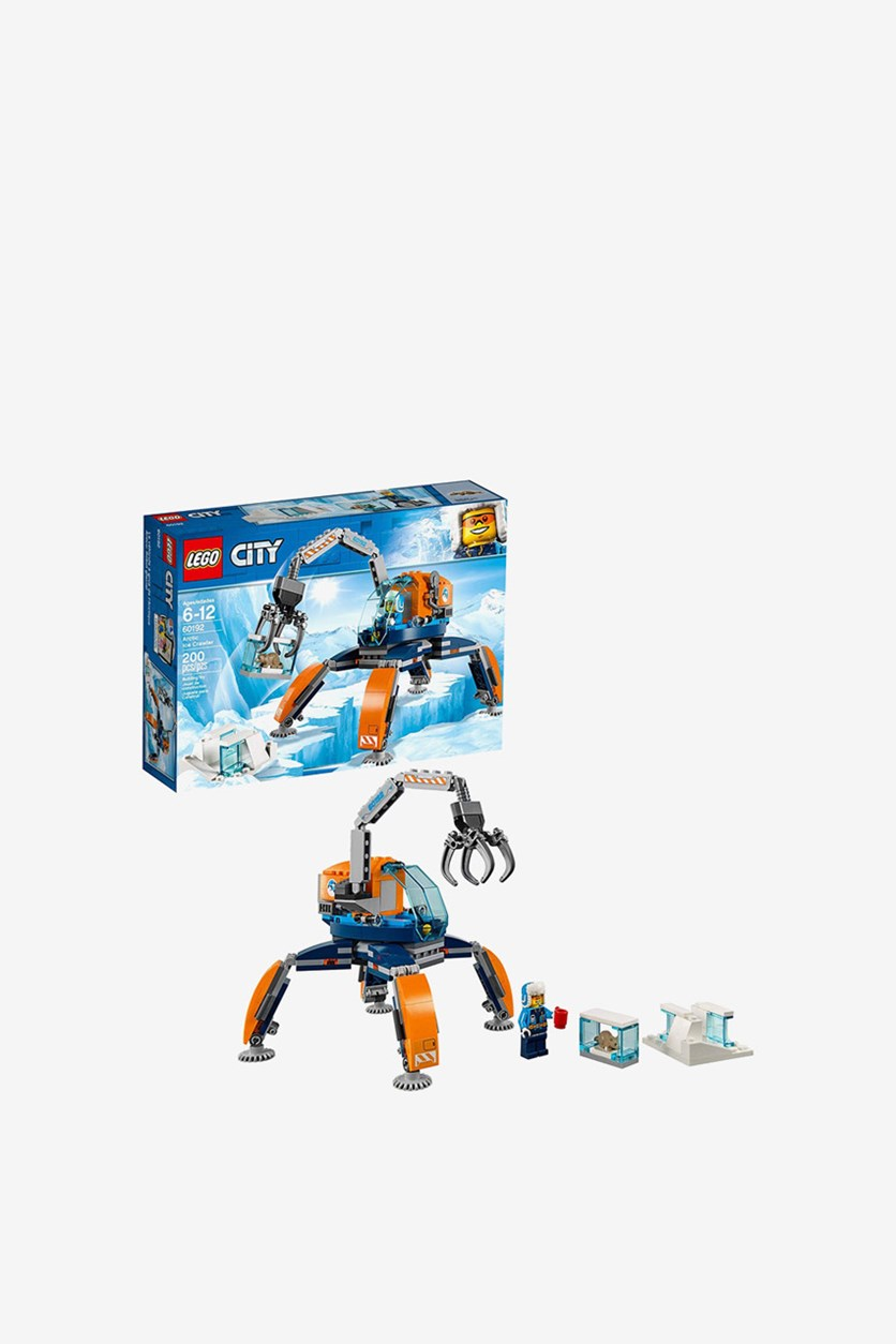 City Arctic Ice Crawler 60192 Building Kit, Blue
