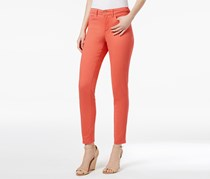 Charter Club Bristol Skinny Ankle Jeans, Retro Coral