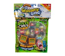 The Grossery Gang Moldy Chips Smelly Onion & Cruddy Cream Flavor 10 Pack, Series 2, Green/Orange/Yellow/Red/Pink