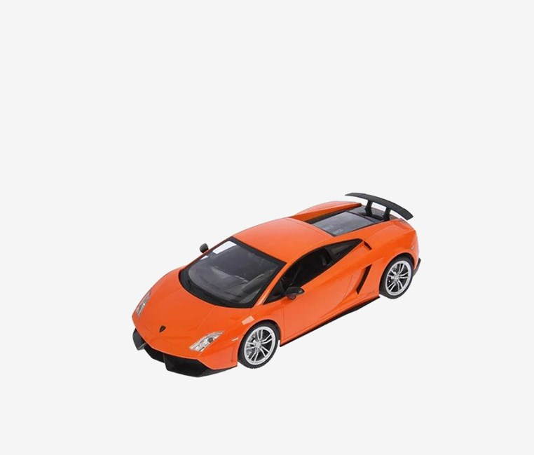 Lamborghini  Racing Car, Light Orange