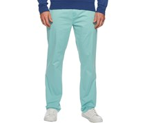Men Classic Fit Stretch Newport Pants, Tiki Green