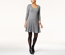 Style & Co. Women's Swing Dress, Mid Heather Grey