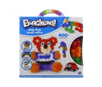 Spin Master Bunchems! Mega Pack 400+ Piceces,  White Combo