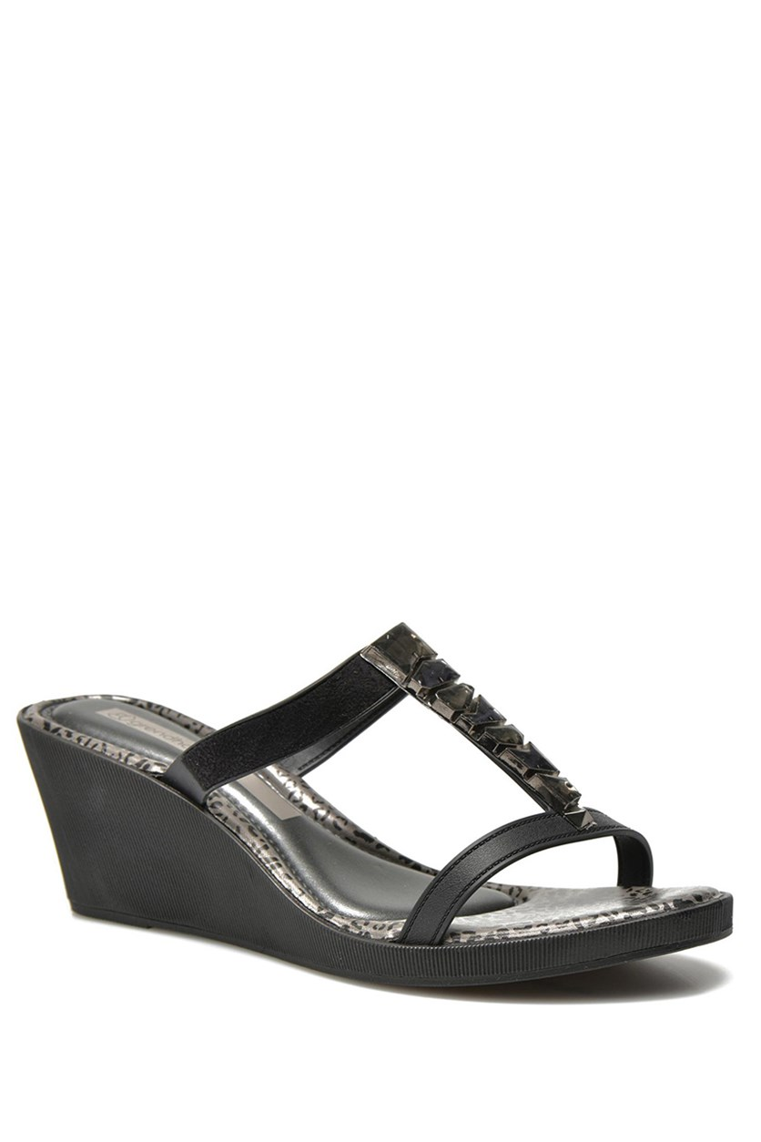 Women's Jewel II Wedges, Black