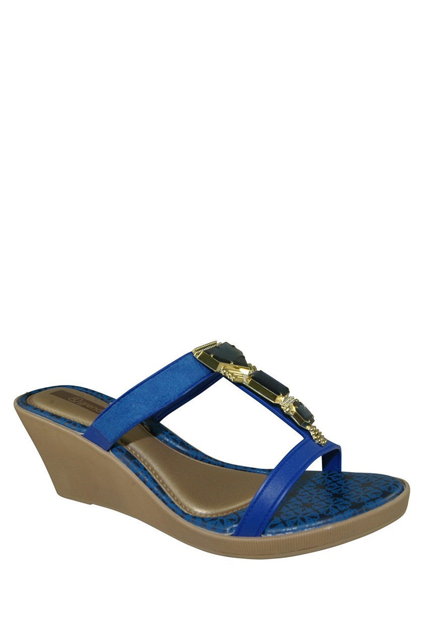 a594fb373 Shop Grendha Grendha Women s Jewel III Wedge Sandals