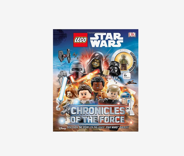 Star Wars Chronicles of the Force: With Exclusive Minifigure, Blue Combo