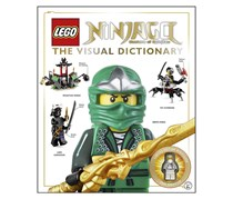 LEGO Ninjago The Visual Dictionary: Includes Zane Rebooted Minifigure, White/Green