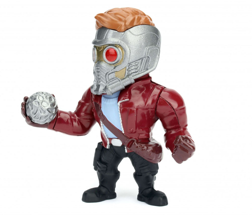 "Jada 4/"" Guardians Of The Galaxy Metals Diecast Action Figure Star Lord 97965"