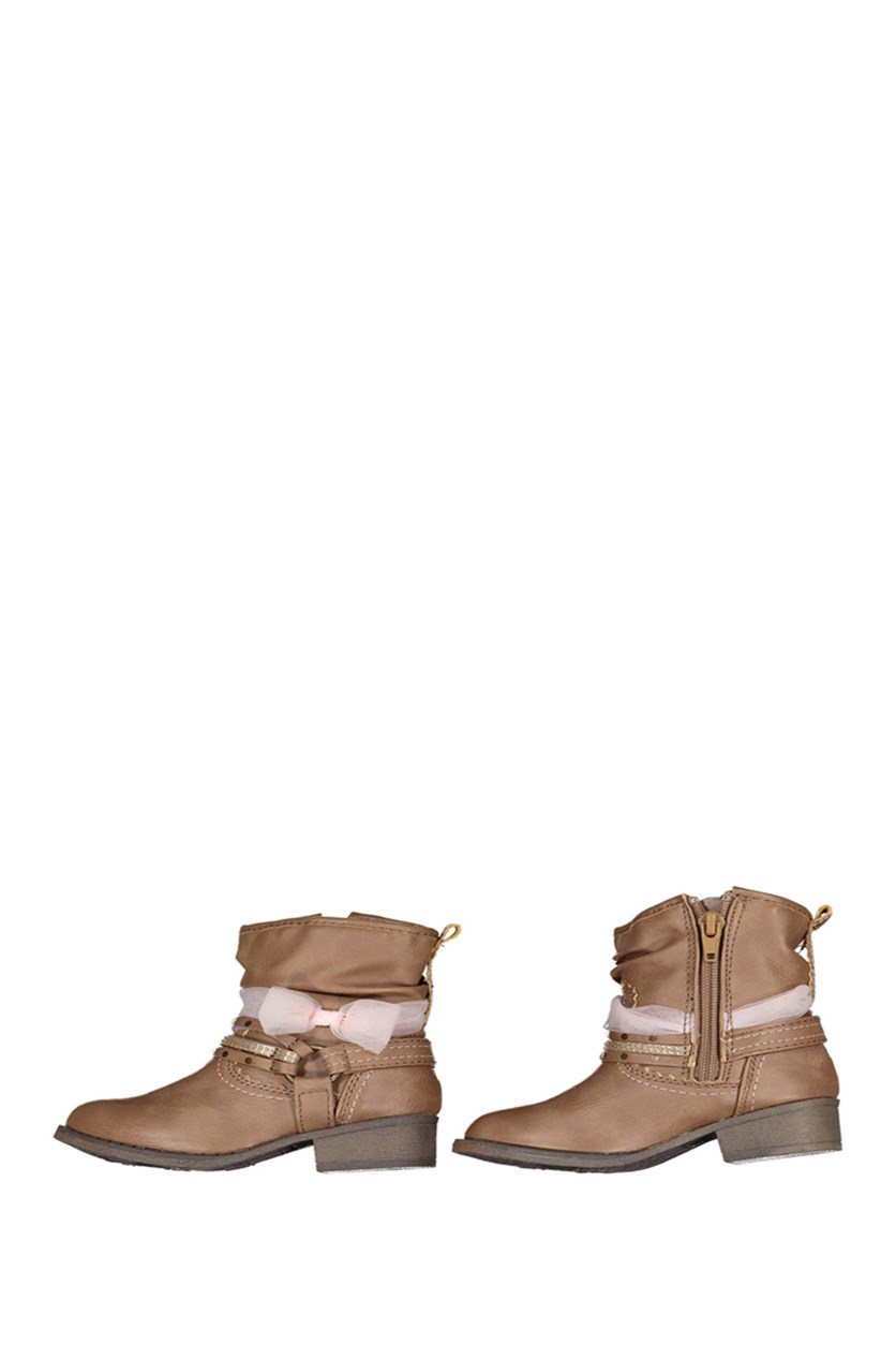 Sarah-Jayne Little Girls Elloise Boots, Tan