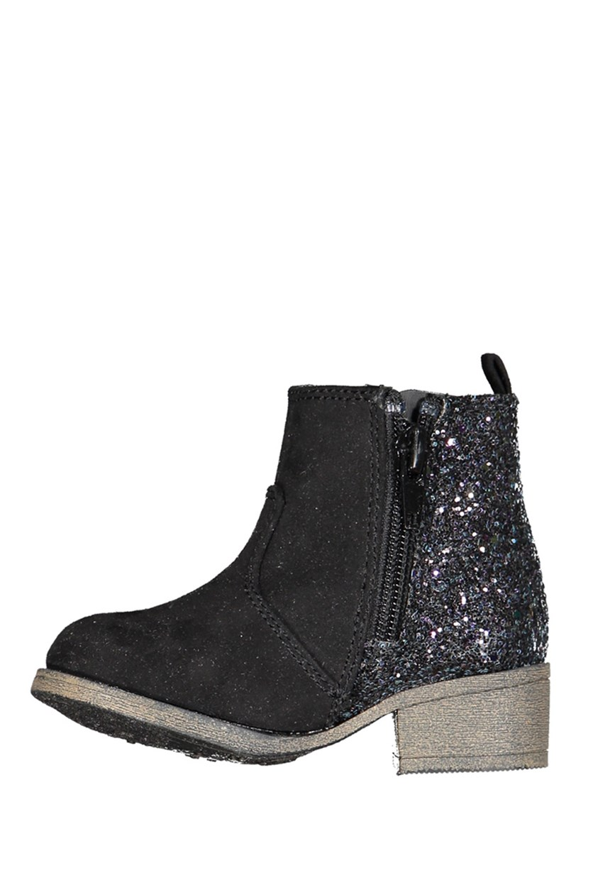 Little Girls Adison Boot, Black
