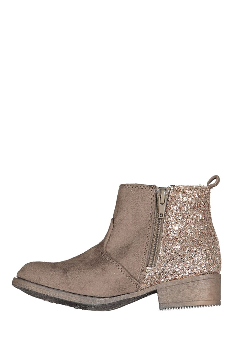 Little Girls Adison Smoke Boot, Taupe