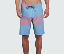 Volcom Men's Macaw Faded Mod Boardshorts, Wrecked Indigo