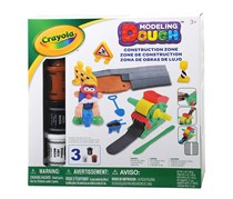 Crayola Road Maker Set Modeling Dough Playset, Brown/Black/White
