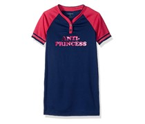 Diesel Sleepwear Girls Nightgown, Navy/Pink