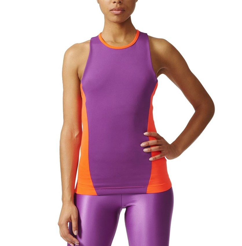 Womens Easy Tank, Purple Combo