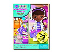 Bendon Disney Doc McStuffins Wooden Magnetic Playset, White Combo
