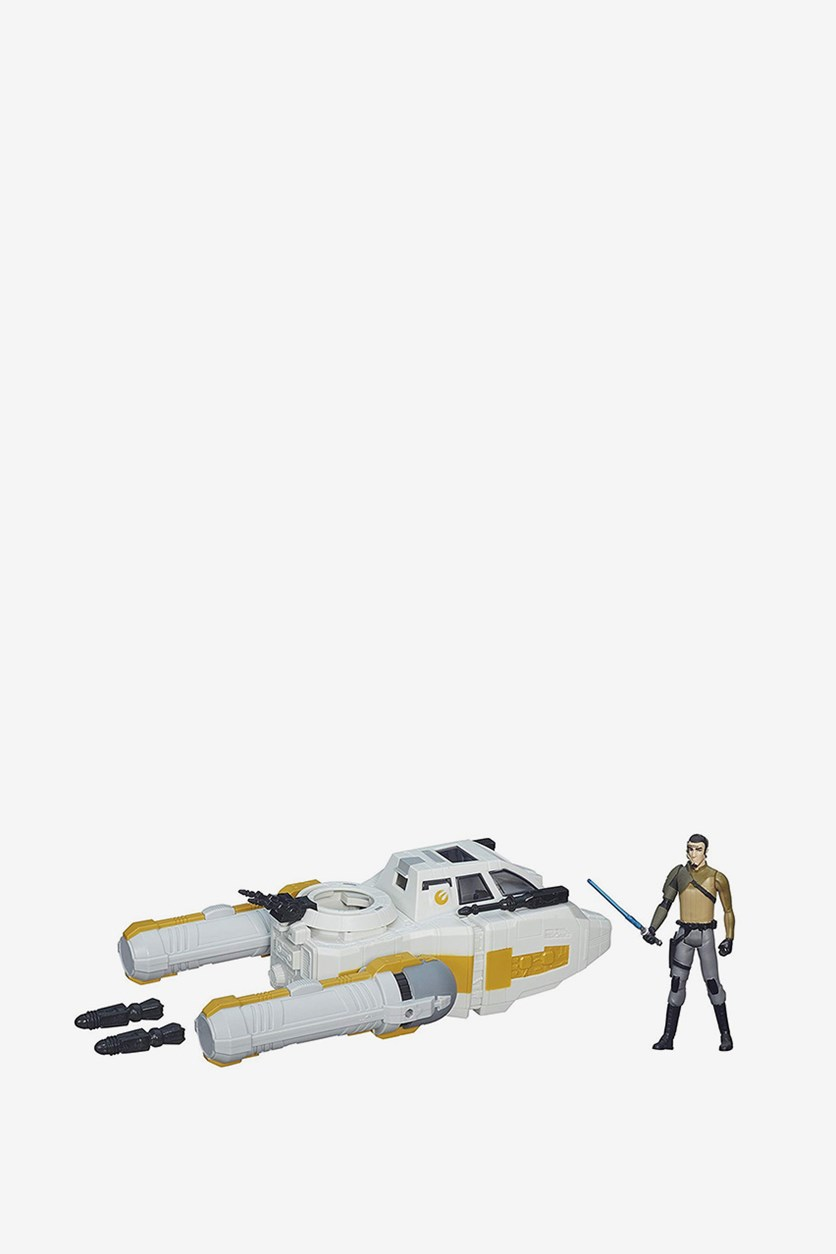 Rebels 3.75-inch Vehicle Y-Wing Scout Bomber, Grey Combo