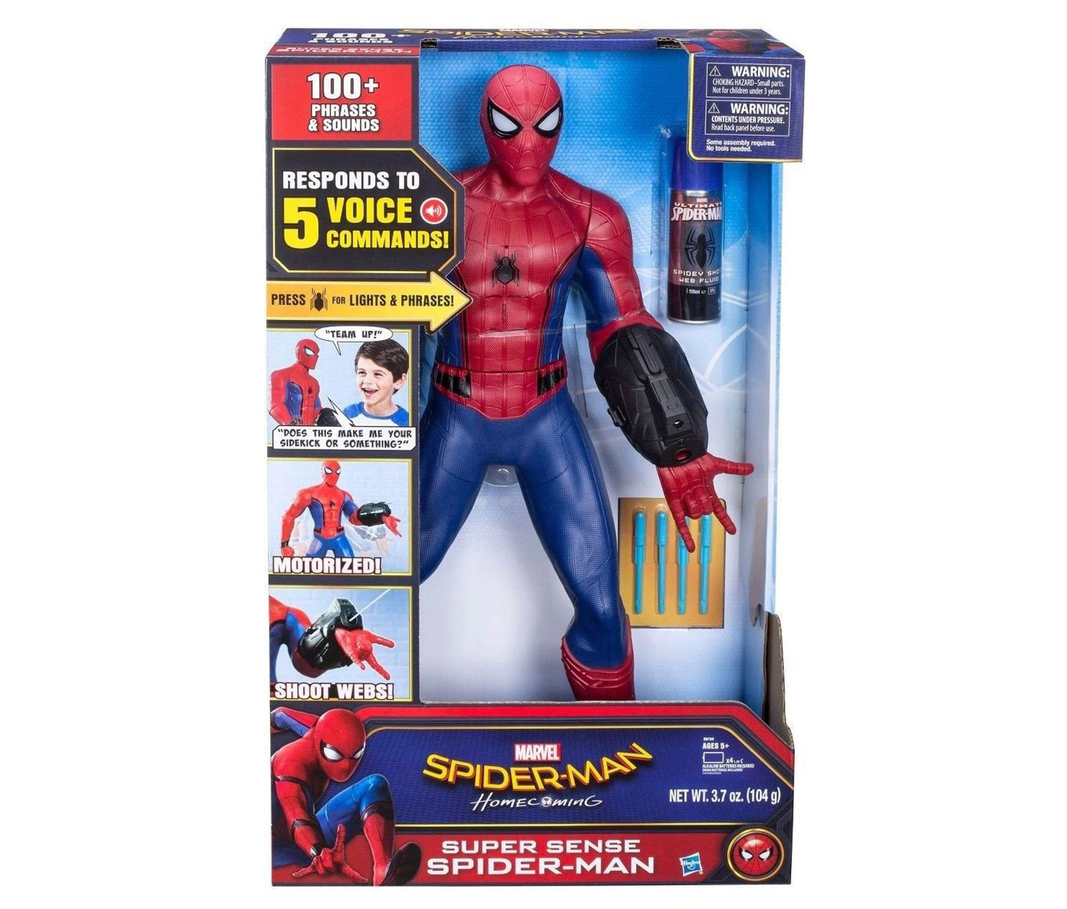 Spider-Man Super Sense Figure, Red