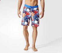 Adidas Men's Swimwear Graphic Short, Blue Combo