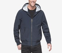 G.H. Bass Co. Men's Hooded Bomber Jacket, Navy